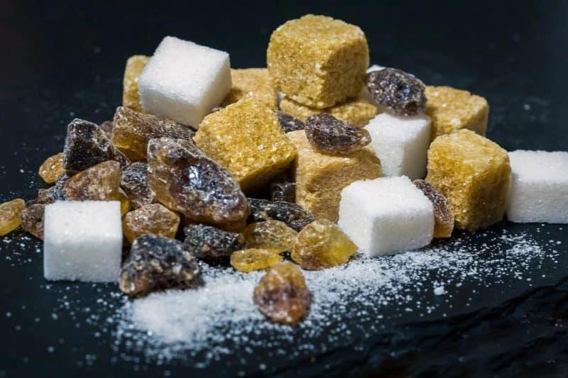 Sucre issu de canne à sucre